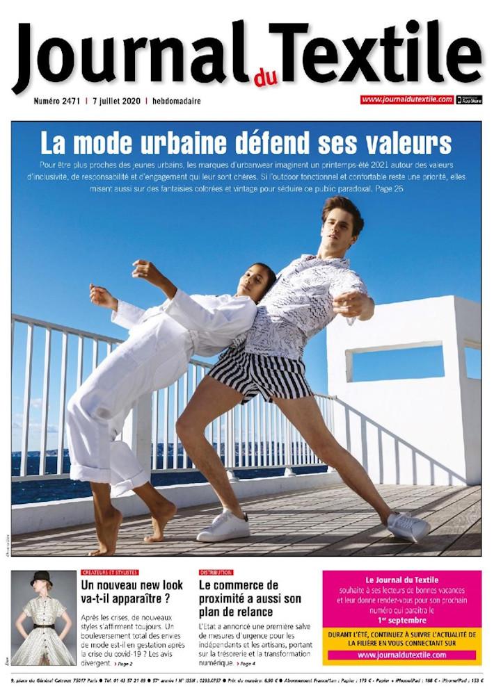 journal-du-textile - couverture - beemedias